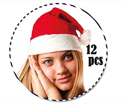 Cappellini Babbo Natale economici in Panno Cappello Misura Unica