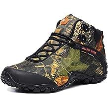 XIANG GUAN Outdoor Schuhe Unisex Wanderschuhe wasserabweisende Trekkingschuhe rutschfeste Wanderstiefel Winter 82289