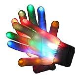 Glovion LED leuchten bunte Handschuhe für Partei-Bevorzugung