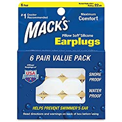 Macks Pillow Soft Silicone Putty Ear Plugs