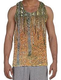 Gustav Klimt Beach Grove Men's All Over Graphic Vest Tank Top
