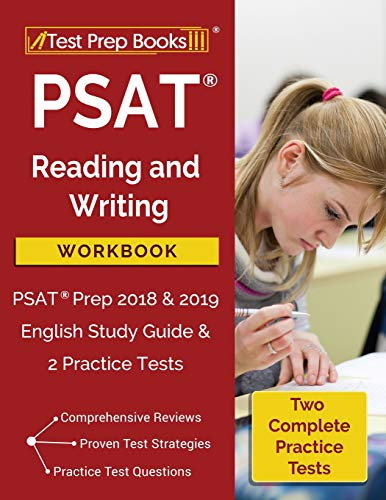 PSAT Reading and Writing Workbook: PSAT Prep 2018 & 2019 English Study Guide & 2 Practice Tests