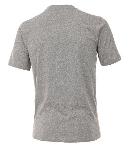 CASAMODA Herren T-Shirt 004200-467 Hellgrau - uni (705)