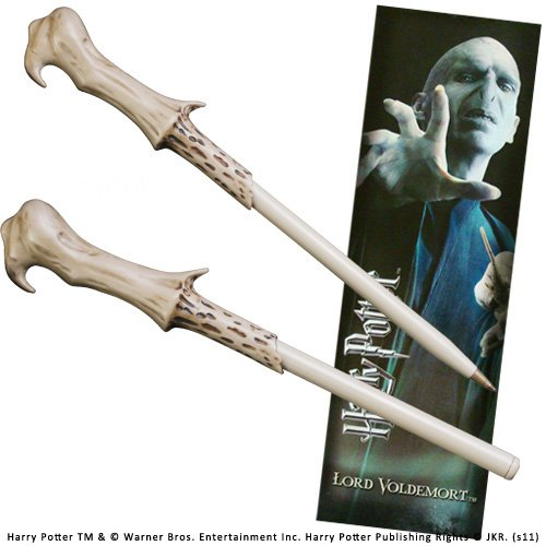 Lord Voldemort Kostüm (Harry Potter Voldemort Wand Pen And Bookmark (Kostüm-Zubehör))