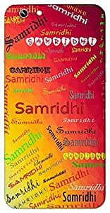 Samridhi (Popular Girl Name) Name & Sign Printed All over customize & Personalized!! Protective back cover for your Smart Phone : Samsung Galaxy A-7