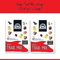 Wonderland Foods Premium Quality Spicy Trail Mix, 400g (Pack of 2 x 200g)