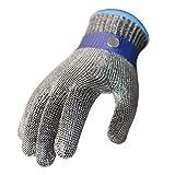 Sicherheits-Schnitt-Beweis-Stich-beständiger Edelstahl-Metallmaschen-Metzger-Arbeits-Handschuh M