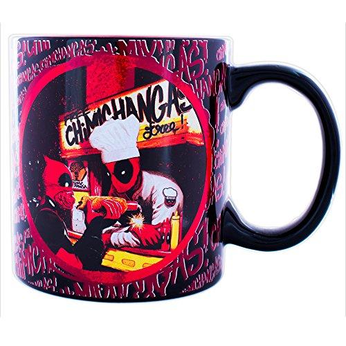 Marvel Deadpool 20 oz Jumbo Ceramic Mug Standard (Mug Ceramic Jumbo)