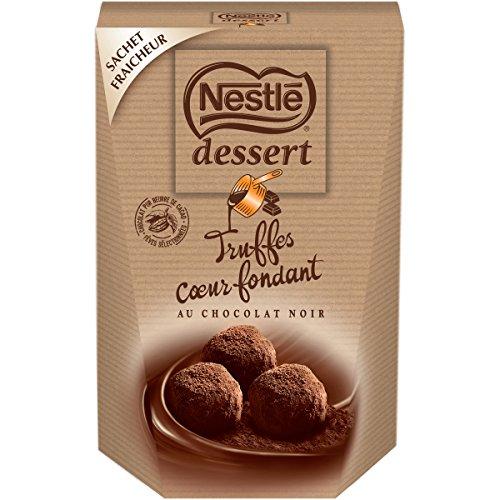 NESTLE DESSERT Truffes Chocolat Noir Coeur Fondant 250 g
