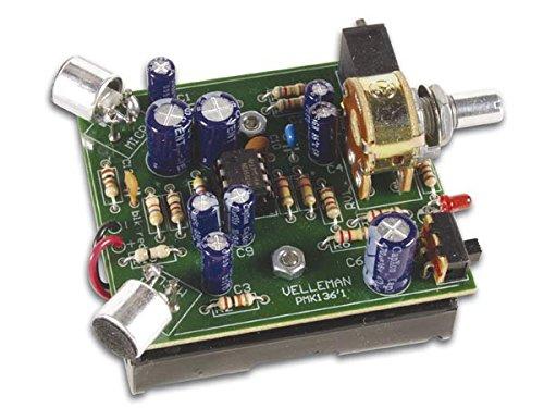 Velleman MK136 Mini-Kit Stereo-Geräuschverstärker Bausatz Gemischt