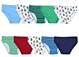 Lora Dora Boys Cotton Briefs (Pack of 10)