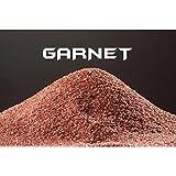 25kg garnet indiano 20 – 40 mesh sabbia abrasivo grana 0,40 - 0,85mm sabbiatrice e sverniciatura duri tenaci 7,5 - 8,0 mohs
