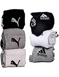 NAQ-V Jeans DNM Combo Offer Of 6 Pairs Sports Ankle Length Socks