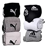 #6: NAQ-V Jeans DNM Combo Offer Of 6 Pairs Sports Ankle Length Socks