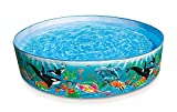 #7: INTEX Inflatable Rigid Ocean Pool, Multi Color For Your Kids - 58461