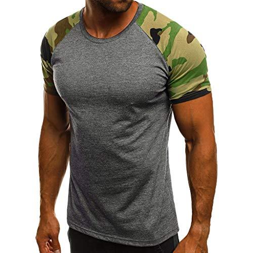 KUKICAT Kurzärmliges Herren-T-Shirt