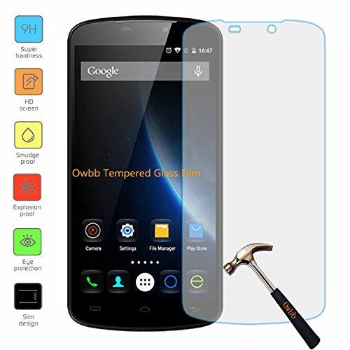 Owbb Glas Bildschirm Schutzfolie für Doogee X6 / X6 Pro Smartphone Screen Panzerglas Protector Hartglas Schutzfolie Ultar Clear