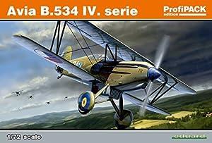 Eduard Kits de plástico 70102 - Kit Modelo de la Serie Avia B.534 IV ProfiPack, Gris