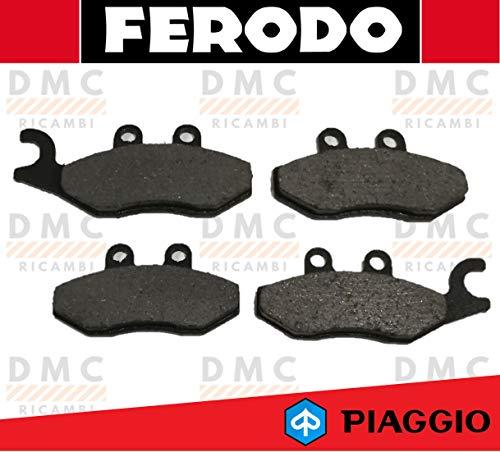 KIT PASTIGLIE PASTICCHE FRENO FERODO PIAGGIO BEVERLY 300 DAL 2010 IN POI - BEVERLY 350 4T 4V CON ABS - BEVERLY 350 ie SPORT TOURING FDB2142 - FDB2186
