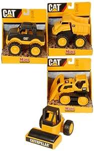Cat - 72322 - Véhicule Miniature et Circuit - Engin de Chantier Caterpillar Collection x1 - 15 cm