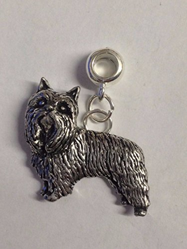 D6Yorkshire terrier charm con foro 5mm per adattarsi a ciondolo charm braccialetto Posted by US Gifts For All 2016from Derbyshire UK