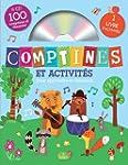 Comptines et activit�s - coffret de 4 CD