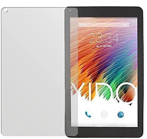 dipos I 2X Schutzfolie matt passend für XIDO Tablet X111 Folie Bildschirmschutzfolie