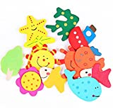 JIUZHOU Best Online Toy Shop 12 PCS Cartoon Tier Magnet Kühlschrank Baby Lernspielzeug