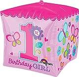 Amscan CBZ Sweet Girl 1. Geburtstag Ballon