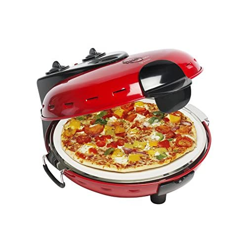 51bS%2BxRQwXL. SS500  - Bestron Pizza Stone Oven, Red