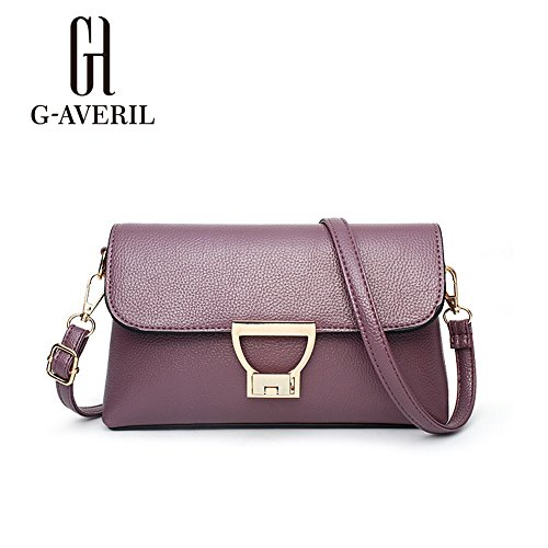 Unknown, Borsa a mano donna Nero Black Purple1