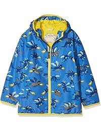 Hatley Microfiber Rain Jacket, Chaqueta Impermeable para Niños