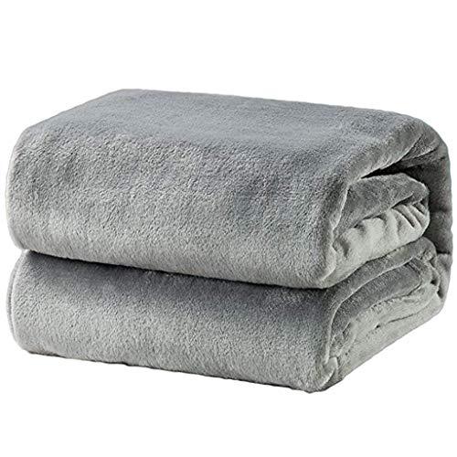Bfmyxgs Super Soft Warm Solid Warm Micro Plüsch Fleece Decke Wurfdecke Sofa Bettwäsche