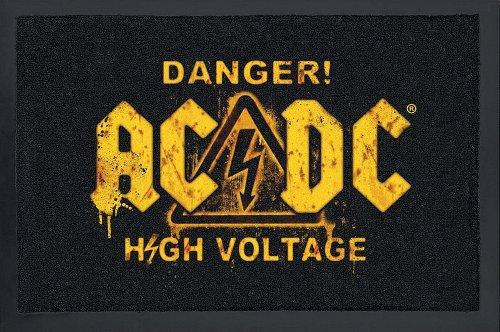 Felpudos Música AC/DC Danger! High Voltage!