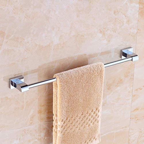 Vollkupfer Einzelstab Handtuchhalter Bad, Bad Handtuchhalter, Chrom Nichtrostender Handtuchhalter-B 50cm (20inch) Home Bad