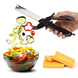 #2: Finiviva Multi Function 2 in 1 Knife and Chopper Kitchen Vegetable Clever Cutter