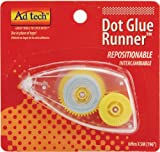 Ad-Tech 6 mmx 5 m Roller de colle repositionnable