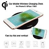Sedeta Auto Wireless Ladegerät Ständer QI Lade Halterung für iPhone X 8 8Plus iPhone7 I6 I5 Handy Drahtloses Ladestation