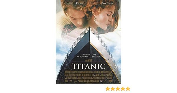 Titanic Affiche De Film Originale 40x53 Cm Pliee Amazon Fr Cuisine Maison