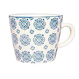 IB Laursen Casablanca Blau Tasse Blumenmuster