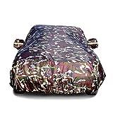 QUD Motorhaube Autoabdeckung Wasserdichte Autoabdeckung mit fluoreszierendem Licht UV-Schutz bei jedem Wetter Schnee Staub regendicht Winddicht Outdoor-Schutz (größe : Golf 7)