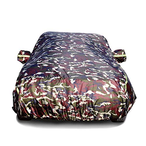 Basic car cover, windproof, waterproof, all weather cover, suitable for cars (color: A-New Toyota)