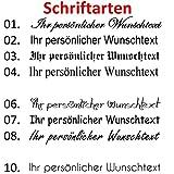 Area17 Gravur Lederarmband 50 cm Wickelarmband, inklusive Wunschtext - 3