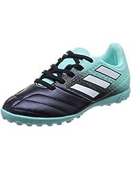 17,4 Ace Salle Adidas - Chaussures Futsal Pour Les Hommes, Vert - (versol / Ftwbla / Negbas) 40
