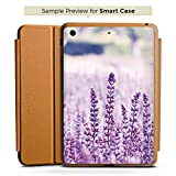 Apple iPad mini 4 Smart Case Hülle Tasche mit Ständer Smart Cover Lavendel Blumenfeld Blumen