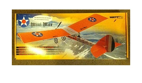 Mini Max Model Airplane Kit by Wattage: Amazon co uk: Toys & Games