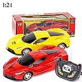 MNEFEL télécommande de Voiture télécommande véhicule Sport Racing Hobby Modèle de Voiture Echelle 1/24pour Enfants Adultes, Lamborghini, 27.2 x 10.9 x 14.7 cm