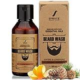#7: Spruce Shave Club Beard Wash - Enriched with Essentials Oils & Aloe Vera - 100ml (Cedarwood & Mandarin)