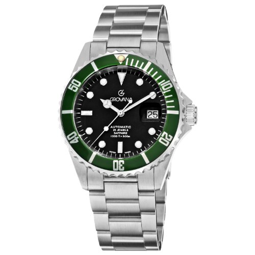 Grovana Herrenarmbanduhr Diver Automatic 1571.2134 (Watch Schweiz Automatic)