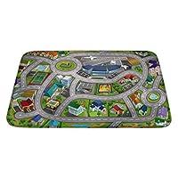 "House of Kids 88230-E3 70 x 95 cm ""Speed Way City Airport"" Ultra Soft Play Mat"